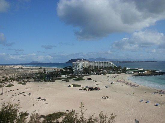ClubHotel Riu Oliva Beach Resort : La duna di cemento... Tres-Islas