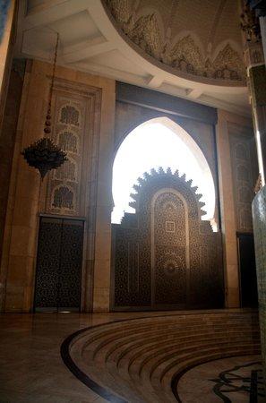 Mosquée Hassan II : Мечеть Хассана II   Касабланка, Марокко январь 2014