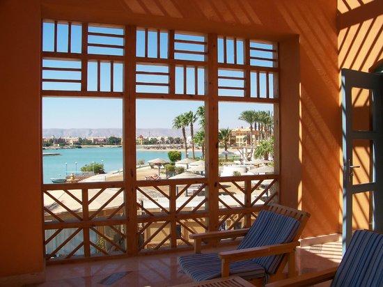 Steigenberger Golf Resort : Blick vom Balkon