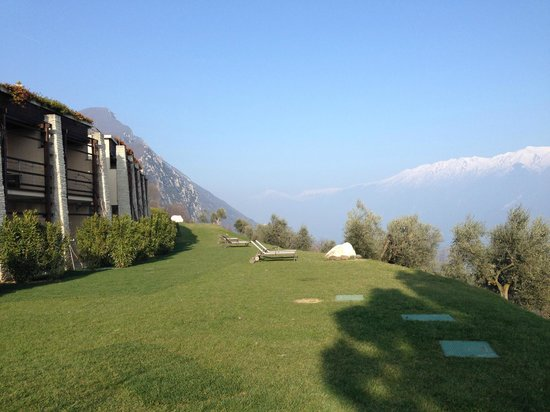 Lefay Resort & Spa Lago di Garda: Terraced landscaping