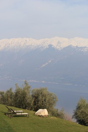 Lefay Resort & Spa Lago di Garda: View of lombardy mountains