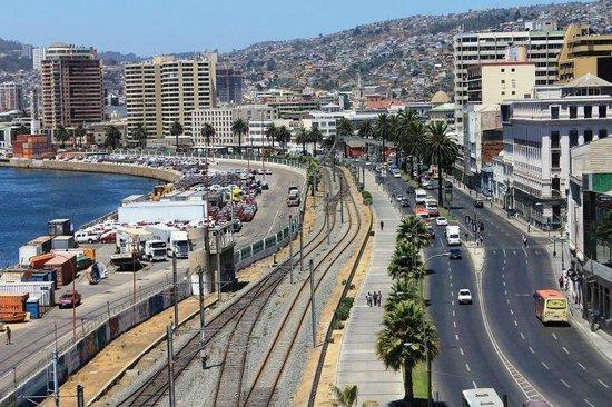 Ibis Valparaiso : Valparaiso a partir do Hotel Ibis