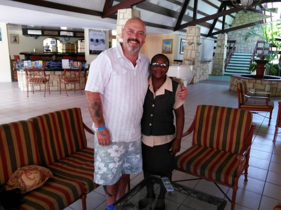 Halcyon Cove by Rex Resorts: me and little ray of sunshine