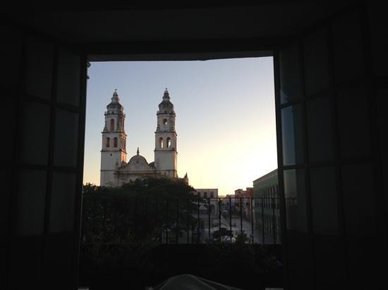 Hostal Casa Balché: View from blue room