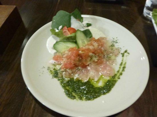 Tosaka: 地鶏サラダカルパッチョ