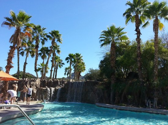 Pointe Hilton Squaw Peak Resort: Palms and cacti!