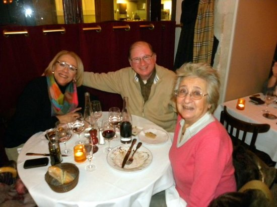 Le Petit Colbert: Enjoying an evening out with friends