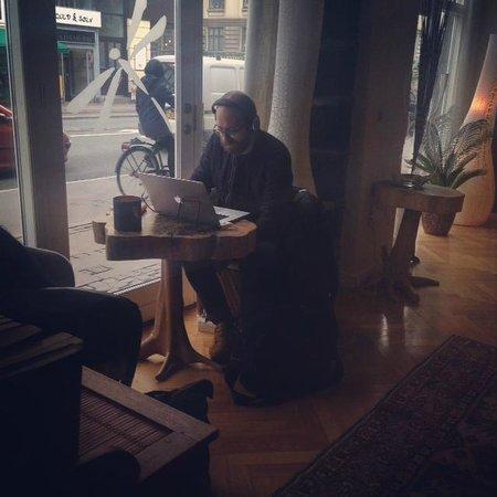 Bertrams Guldsmeden - Copenhagen: Cosy lounge for working too