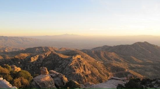 Mt. Lemmon Scenic Byway : spectacular vista view