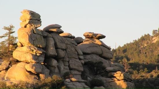 Mt. Lemmon Scenic Byway: Mt Lemmon guardsmen