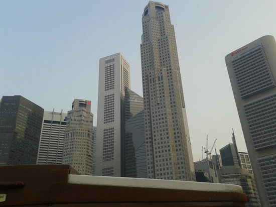 Central Business District: skyscrapers of Singapore
