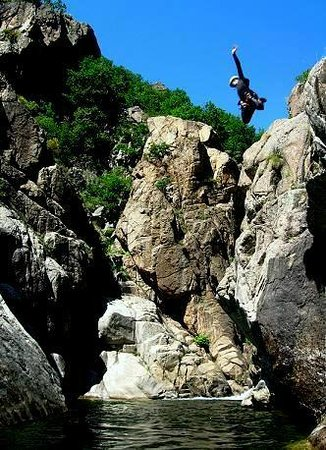 Mont Bouquet Lodge & Activity Center : Canyoning adventures can be booked at the Lodge on-site Activity Centre