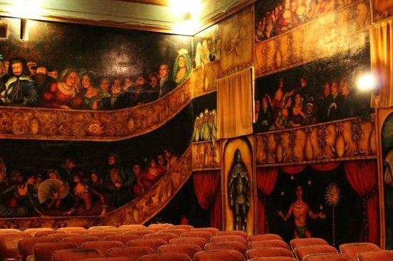 Amargosa Opera House : interior of the theater