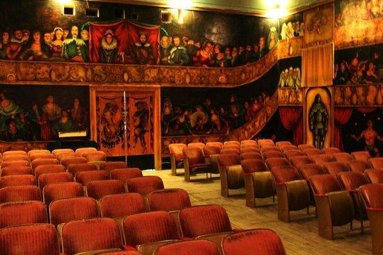 Amargosa Opera House: interior of the theater