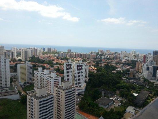 Intercity Salvador : Vista piscina (cobertura)