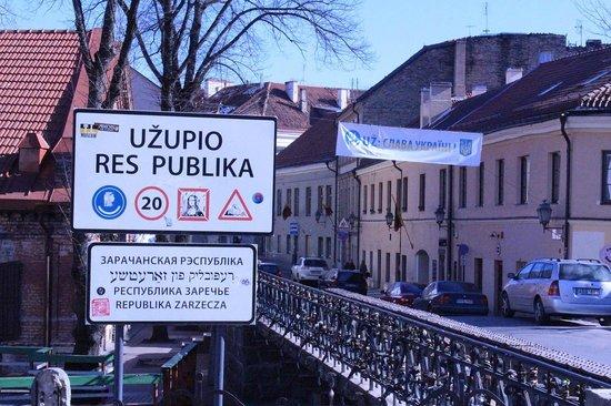 Uzupis: Республика Заречье