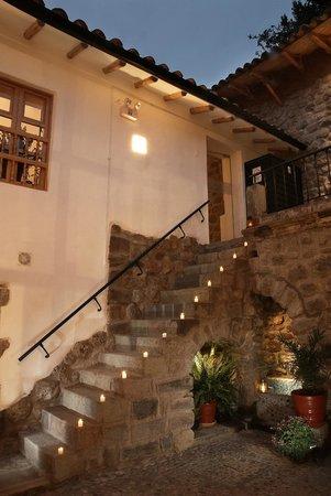 Samana Inn & Spa: Patio