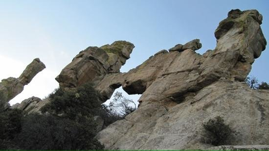 Mt. Lemmon Scenic Byway : amazing rock formations