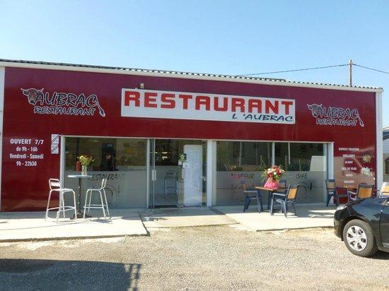 Restaurant Aubrac: Devanture du restaurant