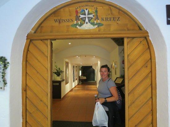 Hotel Weißes Kreuz: Le hall