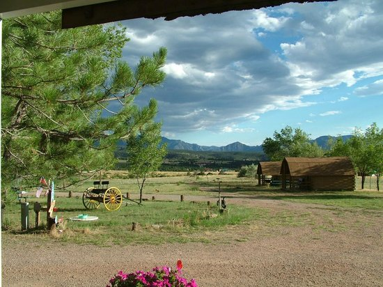 The Starlite Campground : Clean Colorado air at 6300' elevation. Royal Gorge Bridge within sight!