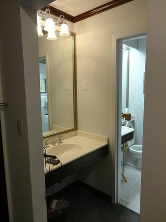 Avon Old Farms Hotel: Bathroom area.