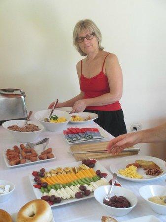 Hotel Flor de Sarta: espace petit dejeuner