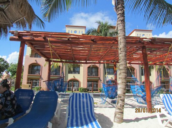 Sandos Playacar Beach Resort: PLAYA SANDOS PLAYACARD