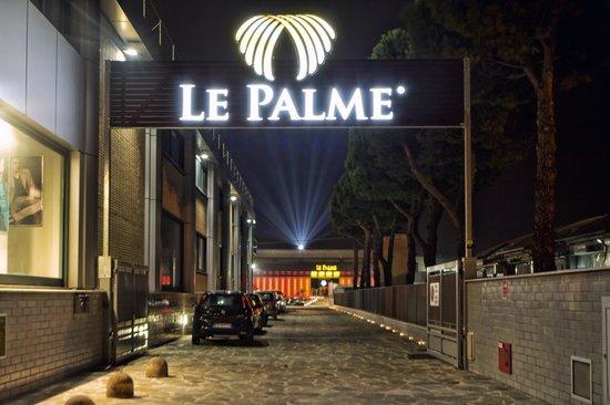 Casino Le Palme: Ingresso da Via Sonnino -Fronte Uscita Autostrada A14-