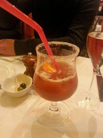 Auberge de Venise Montparnasse : Cocktail aux fruits