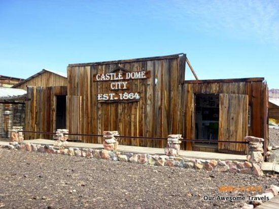 Castle Dome Mines Museum & Ghost Town : Great place to visit in the desert