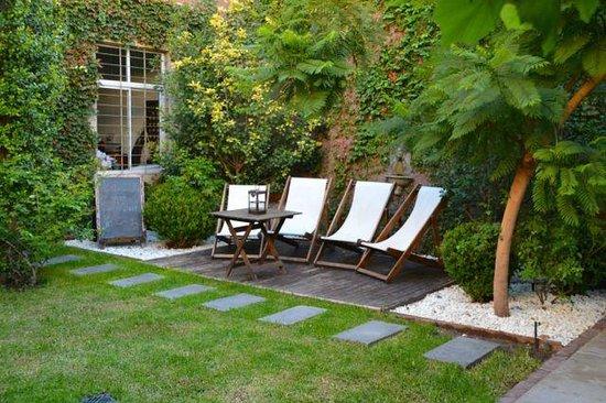 Casa Lila : courtyard