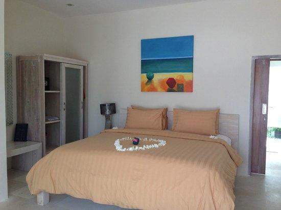 MAHAMAYA Gili Meno: villa sleeping room