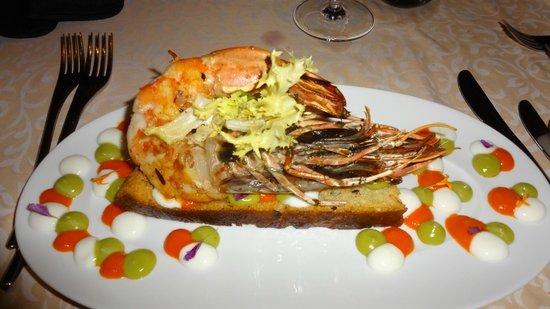 Constance Lemuria: SeaHorse restaurant