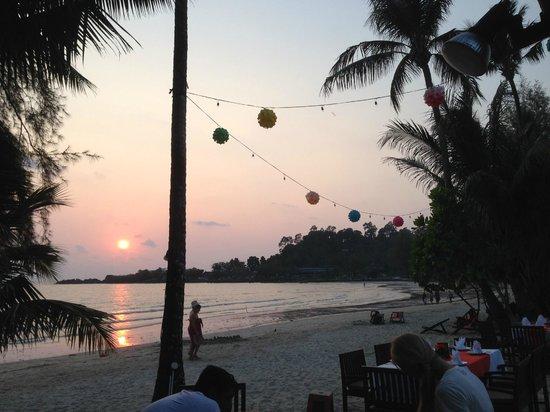 Koh Chang Paradise Resort & Spa : Sonnenuntergang