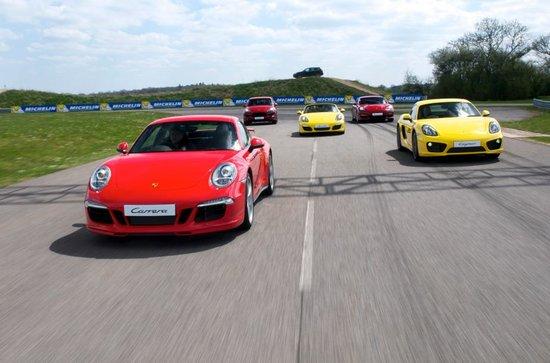 Porsche Experience Centre: Porsche Driving Experience