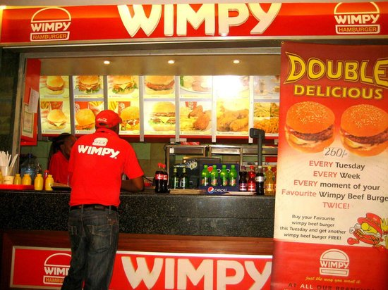 The Junction Mall: Wimpy Burgers