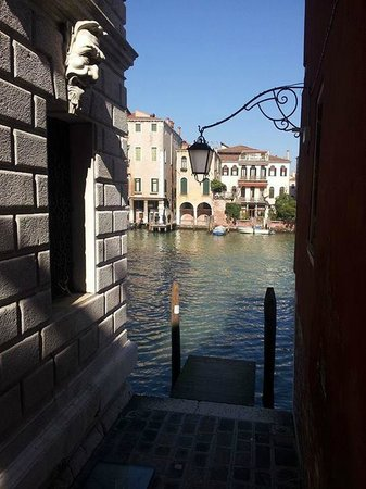 San Cassiano Residenza d'Epoca Ca' Favretto: View of the Canal Grande from my window.