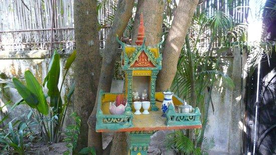 La Maison d'Angkor : autel