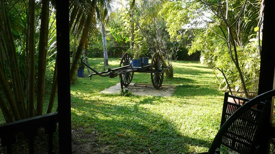 La Maison d'Angkor : Jardin