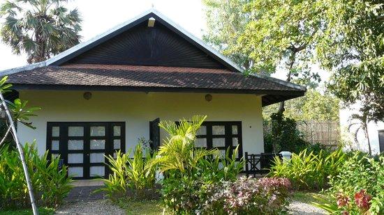 La Maison d'Angkor : Vue sur l'hôtel