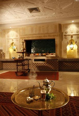 Hotel Palace Oceana Hammamet: café maure