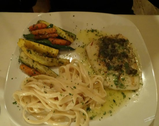 Vieni Vai Trattoria: Vegetables were fresh and cooked to perfection