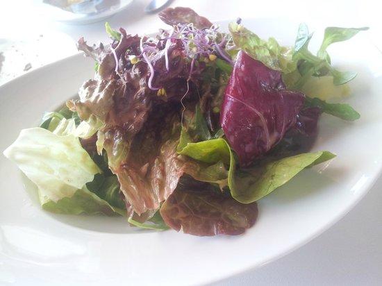 Hotel Restaurant Traube: Der Salat.