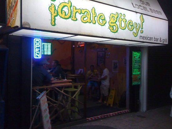 !Orale Guey!: outside