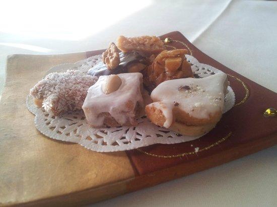 Hotel Restaurant Traube: Die Kekse aufs Haus.