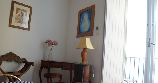 Casa a Mare : dettagli camera