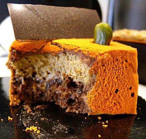 'JAVA' cake at Pierre Marcolini Manufacture