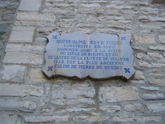 Eglise Notre Dame des Victoires : L'église Notre-Dame-des-Victoires, construite en 1688