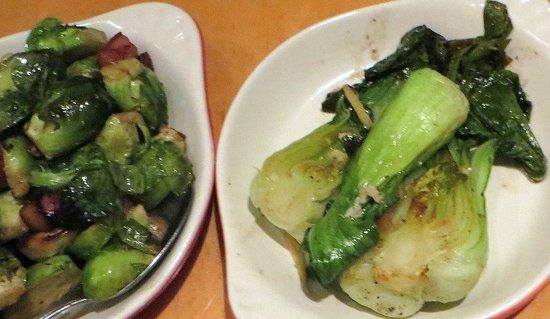 ALTAeats: Brussels sprouts, Bak-choy